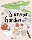 Summer Garden Coloring Book Cover Image