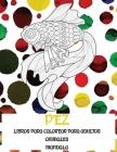Libros para colorear para adultos - Mandala - Animales - Pez Cover Image
