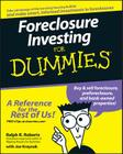 Foreclosure Investing for Dummies Cover Image
