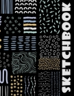 Black Paper Sketchbook: Big Sketchbook for Doodling & Drawing With Gel, Metallic, Sharpies or Neon Highlighter Pens Cover Image