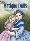 Antique Dolls (Dover Fashion Coloring Book) Cover Image