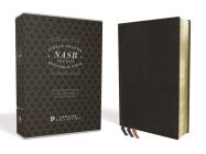 Nasb, Single-Column Reference Bible, Premium Leather, Goatskin, Black, Premier Collection, 1995 Text, Comfort Print Cover Image