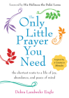 The Only Little Prayer You Need: The Shortest Route to a Life of Joy, Abundance, and Peace of Mind Cover Image