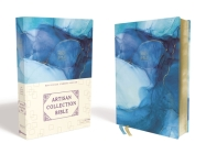 Nrsv, Artisan Collection Bible, Cloth Over Board, Blue, Art Gilded Edges, Comfort Print Cover Image