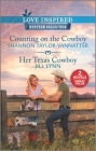 Counting on the Cowboy & Her Texas Cowboy Cover Image