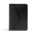 CSB Large Print Compact Reference Bible, Charcoal LeatherTouch Cover Image
