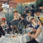 Adult Jigsaw Puzzle Pierre Auguste Renoir: Luncheon of the Boating Party: 1000-piece Jigsaw Puzzles Cover Image