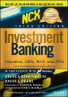 Investment Banking, (Includes Valuation Models + Online Course): Valuation, Lbos, M&a, and IPOs (Wiley Finance) Cover Image