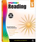 Spectrum Reading Workbook, Grade 5 Cover Image