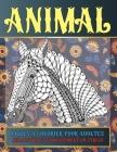 Livres à colorier pour adultes - Relaxation et soulagement du stress - Animal Cover Image