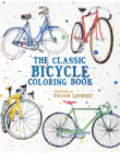 The Classic Bicycle Coloring Book Cover Image