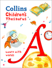 Collins Children's Thesaurus: Learn With Words Cover Image