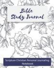 Bible Study Journal: Scripture Christian Personal Journaling Notebook Cover Image