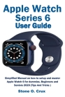 Apple Watch Series 6 User Guide Cover Image