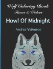 Wolf Coloring Book: Runes & Wolves Howl Of Midnight Cover Image