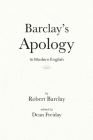 Barclay's Apology in Modern English Cover Image