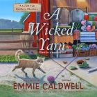 A Wicked Yarn Lib/E: A Craft Fair Knitters Mystery Cover Image