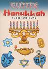 Glitter Hanukkah Stickers (Glitter Sticker Books) Cover Image