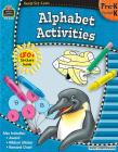 Ready-Set-Learn: Alphabet Activities Prek-K [With 180+ Stickers] Cover Image