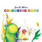 Small White Colouring Book Cover Image