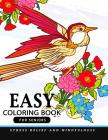Easy Coloring Books for Seniors Cover Image