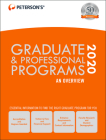 Graduate & Professional Programs: An Overview 2020 Cover Image