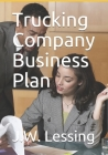 Trucking Company Business Plan Cover Image