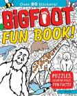 Bigfoot Fun Book!: Puzzles, Coloring Pages, Fun Facts! Cover Image