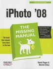 iPhoto '08: The Missing Manual: The Missing Manual Cover Image