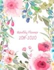 2019-2020 Monthly Planner: Academic Weekly & Monthly Pocket Calendar Schedule Organizer, 8.5
