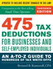 475 Tax Deductions for Businesses Cover Image