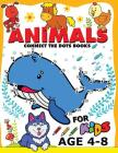 Animals Connect the Dots Books for Kids age 4-8: Animals Activity book for boy, girls, kids Ages 2-4,3-5 connect the dots, Coloring book, Dot to Dot Cover Image