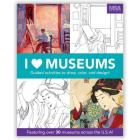 I Heart Museums Activity Book Cover Image
