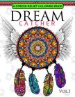 Dream Catcher Volume 1: Flower Mandalas Stress Relief Coloring book (dreamcatcher coloring books for adults) Cover Image