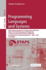 Programming Languages and Systems: 30th European Symposium on Programming, ESOP 2021, Held as Part of the European Joint Conferences on Theory and Pra Cover Image