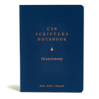 CSB Scripture Notebook, Deuteronomy: Read. Reflect. Respond. Cover Image