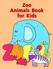 Zoo Animals Book for Kids: Baby Cute Animals Design and Pets Coloring Pages for boys, girls, Children Cover Image