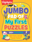 Jumbo Pad of My First Puzzles (Highlights Jumbo Books & Pads) Cover Image