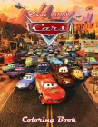 Pixar Cars Coloring Book Cover Image