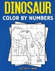 Dinosaur Color By Numbers Cover Image