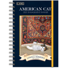 American Cat(tm) 2021 Spiral Engagement Planner Cover Image
