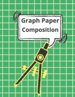 Graph Paper Composition Notebook: Quad Ruled 5x5, Grid Paper for Math & Science Students (8.5 x 11) Cover Image