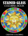 Stained Glass Coloring Book: Beautiful Intricate Designs Cover Image
