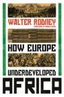 How Europe Underdeveloped Africa Cover Image