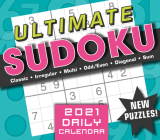 2021 Ultimate Sudoku Boxed Daily Calendar Cover Image