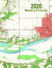 2020 Weekly Planner: Spring Valley/Peru, Illinois: Vintage Topo Map Cover Cover Image