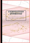 Composition Notebook: Cute Wide Ruled Paper Notebook Journal Marbled Wide Ruled Notebook For School Wide Blank Lined Workbook for Kids Cover Image