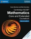 Cambridge Igcse(r) Mathematics Core and Extended Coursebook (Cambridge International Igcse) Cover Image