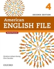 American English File Second Edition: Level 4 Student Book: With Online Practice Cover Image