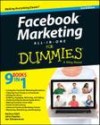 Facebook Marketing All-In-One for Dummies Cover Image